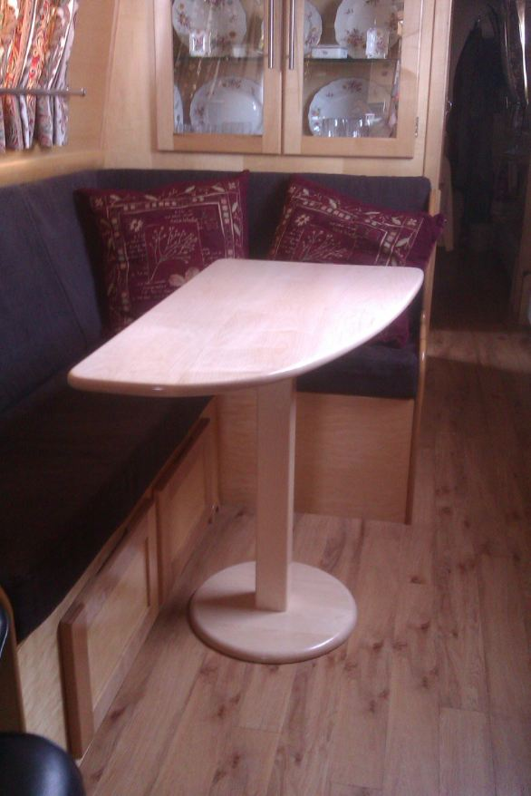 Narrow Boat Table Products In Wood By Gary Hill