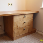 Drawers solid Oak